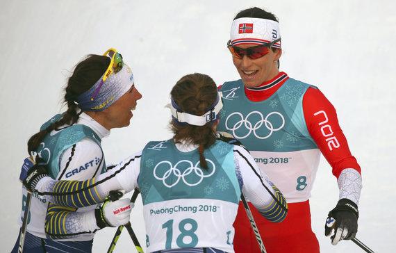 """Reuters""/""Scanpix"" nuotr./Marit Bjoergen iškovojo 11-ąjį olimpinį medalį."