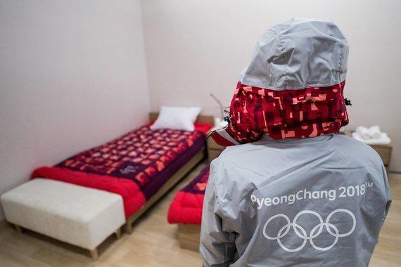 """Scanpix"" nuotr./Olimpinis atletų kaimelis Pjončange"