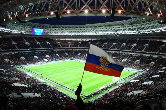 """Scanpix"" nuotr./Stadionas Maskvoje."