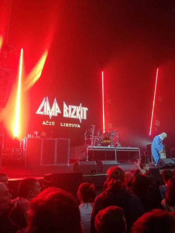 "15min nuotr./""Limp Bizkit"" koncerto akimirka"