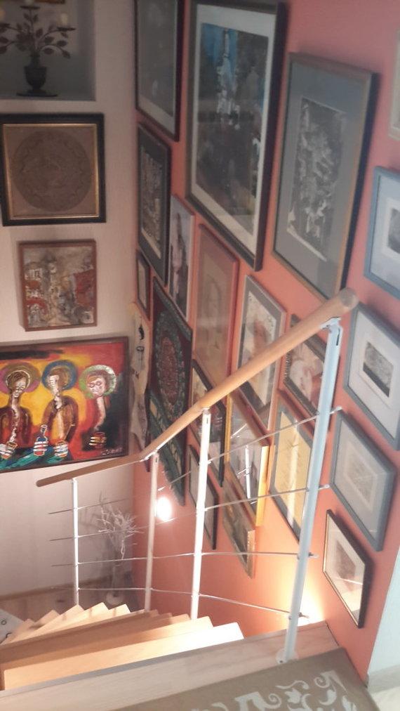 Asmeninio albumo nuotr./Vaizdas iš D.Teišerskytės namų Panemunėje