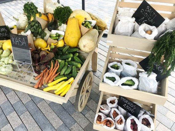 """""""Nordic Food Republic"""" nuotr./Savitarnos turgus netoli Rotušės"""