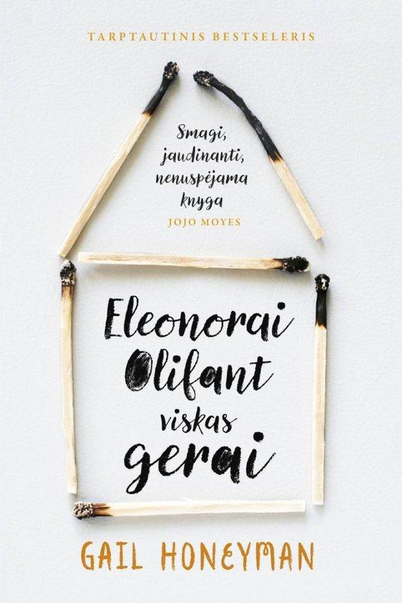 "Lrt.lt nuotr./Gail Honeyman ""Eleonorai Olifant viskas gerai"""