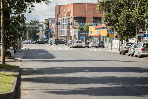 Sauliaus Žiūros nuotr./Naugarduko gatvė