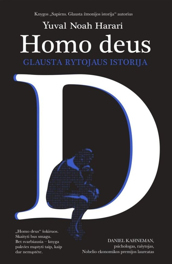 "Lrt.lt nuotr./Yuval Noah Harrari ""Homo Deus: Glausta rytojaus istorija"""