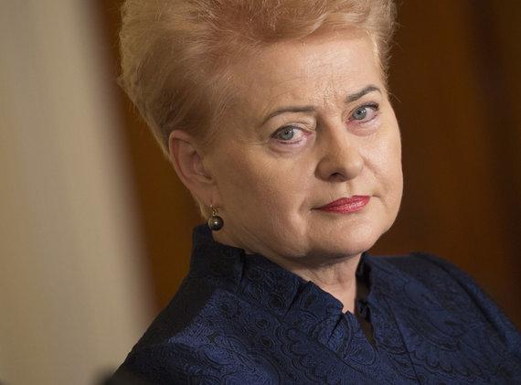 """Scanpix""/""Sipa USA"" nuotr./Dalia Grybauskaitė"