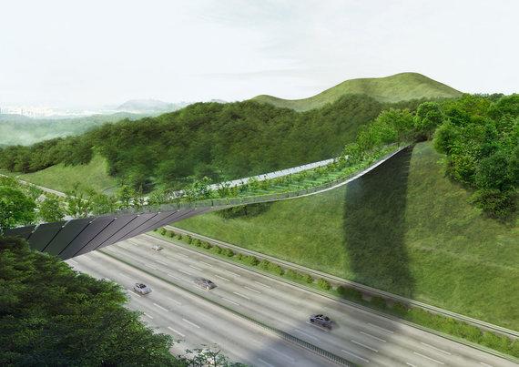 Projekto rengėjų nuotr. /Žaliojo tilto projektas Seule