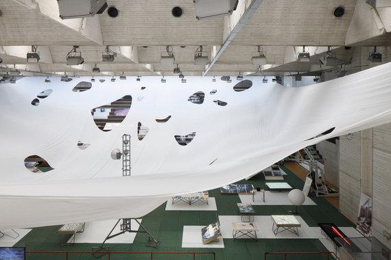 Ansis Starks nuotr./Baltijos paviljonas Venecijos bienalėje