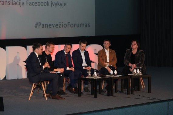 Projekto partnerio nuotr./Panevėžio forumas 2017 m.