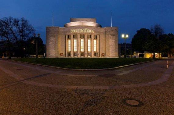 "Volksbuehne.berlin nuotr./Teatras ""Volksbühne"" Rozos Luxemburg aikštėje Berlyne"