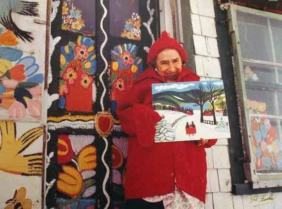 Maud Lewis / wikipedia.org nuotr.