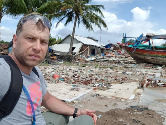 Asmeninio archyvo nuotr./Edgaras cunamio nuniokota vietovėje