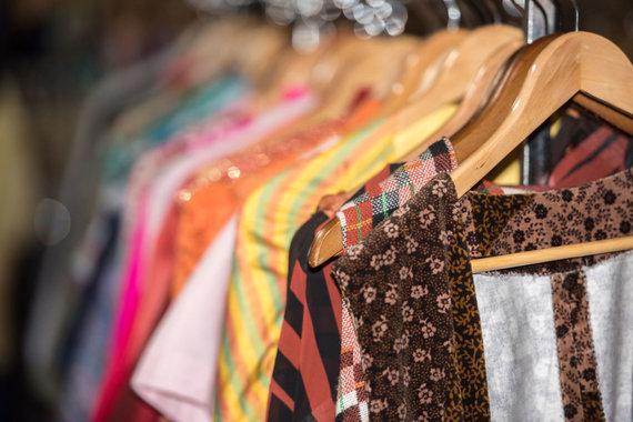 123RF.com nuotr./Dėvėti drabužiai