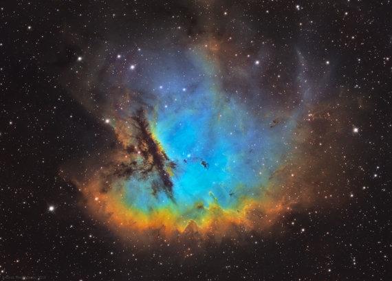 Artūro Medvedevo nuotr./Artūro užfiksuotas NGC281 ūkas