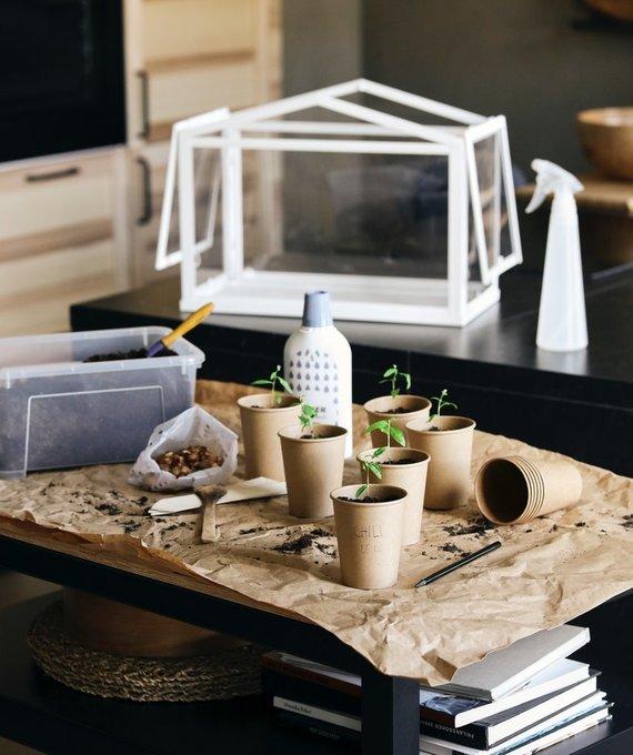 """""""Ikea"""" nuotr./Daržas namuose"""