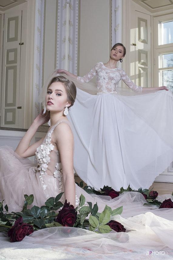 Ingos Miltienienės nuotr./Dizainerės Ingos Miltienienės vestuvinės suknelės