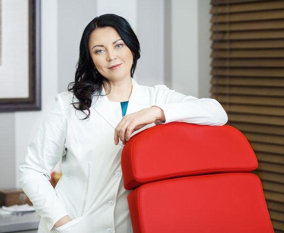 Asmeninio archyvo nuotr./Akušerė-ginekologė doc. dr. Daiva Bartkevičienė