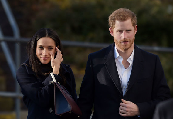 Vida Press nuotr./Meghan Markle ir princas Harry