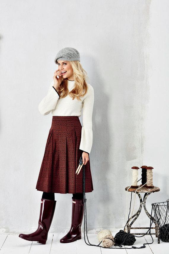 Vida Press nuotr./Vidutinio ilgio sijonas