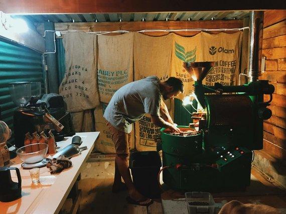 Asmeninio archyvo nuotr./Marijus skrudina kavos pupeles
