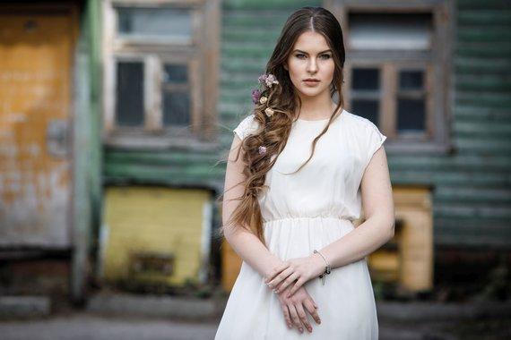 Organizatorių nuotr./Jolantos Mačiulienės kurta šukuosena_2010-ieji