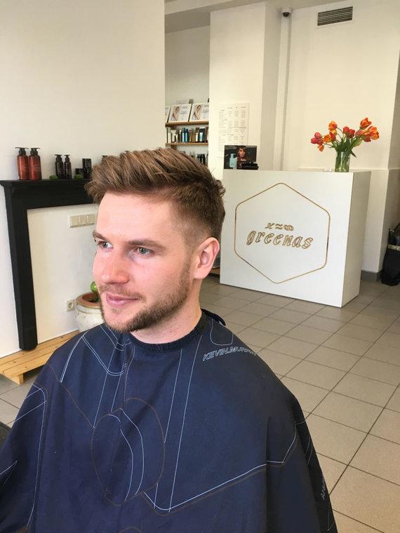 Mados vėjai vyrų plaukuose