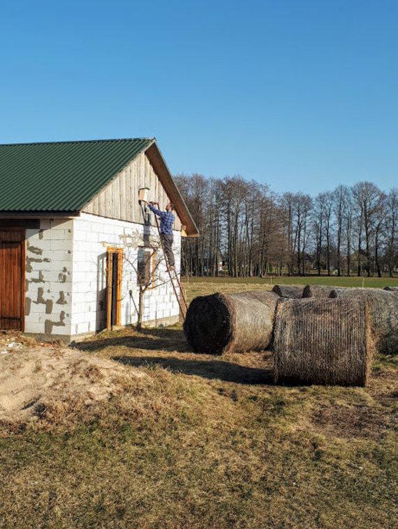 Asmeninio archyvo nuotr./Tomos ir Andriaus namai