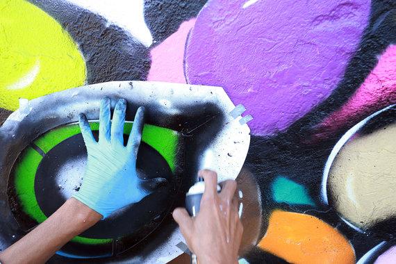 Aliaus Koroliovo/15min nuotr./Paslaptingas gatvės meno kūrėjas iš Indonezijos