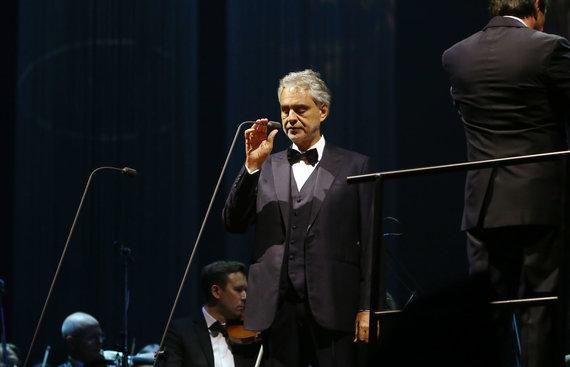 Aliaus Koroliovo/15min nuotr./Andrea Bocelli Kaune