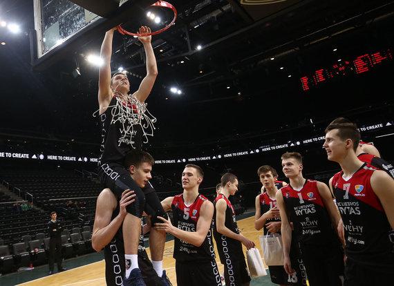 Aliaus Koroliovo / 15min nuotr./Eurolygos jaunimo atrankos turnyro apdovanojimai