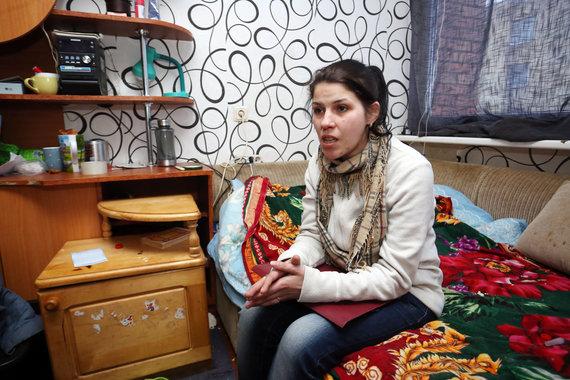 Aliaus Koroliovo / 15min nuotr./Socialinio būsto nesulaukianti dviejų mažamečių mama