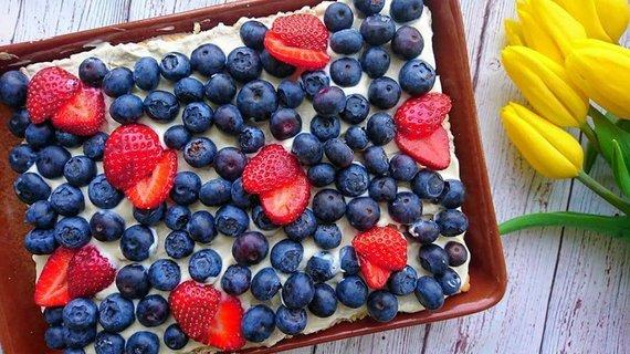 Gaivus vasariškas varškės pyragas