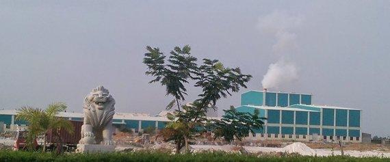 """Google"" nuotr./""Shell & Pearl"" gamykla Indijoje"