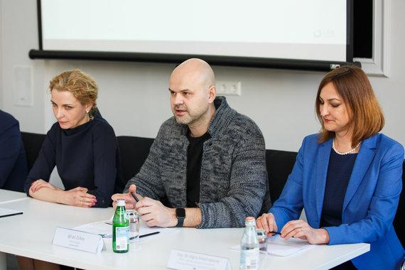 Lietuvos bankų asociacijos nuotr./Finansinio raštingumo indekso pristatymas