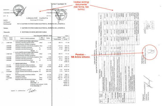 15min skaitytojo nuotr./Verslininkas teigia, kad NMA pateikti dokumentai galimai suklastoti