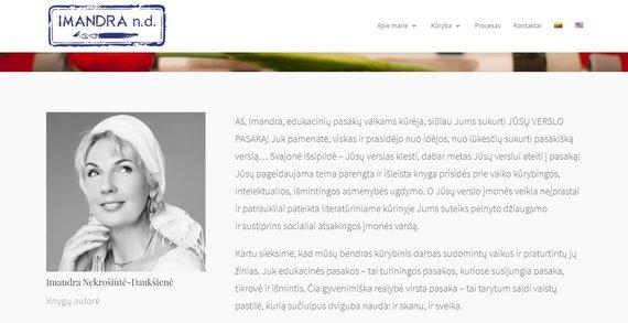 Imandros Daukšienės interneto svetainė