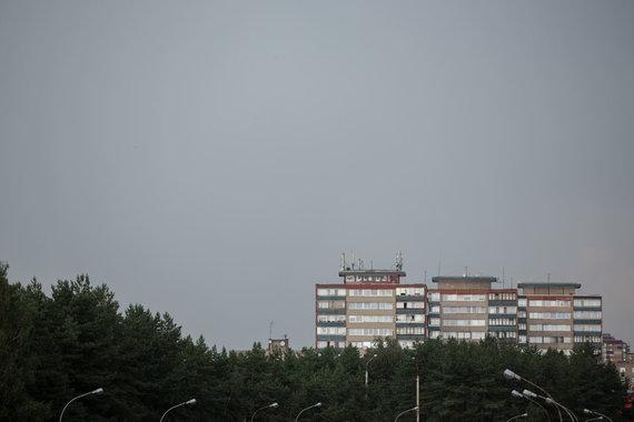 Žygimanto Gedvilos / 15min nuotr./Lietaus debesys