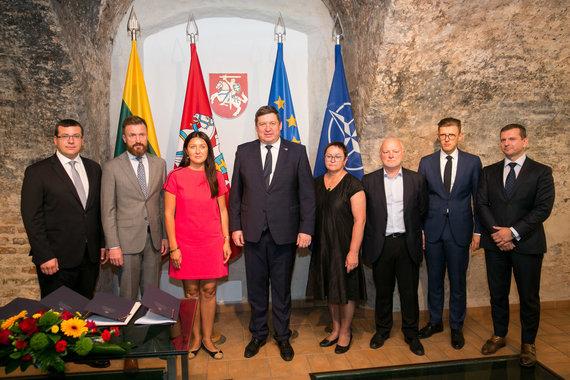 Žygimanto Gedvilos / 15min nuotr./Naujienų portalai pasirašė Kibernetinio saugumo susitarimą su KAM