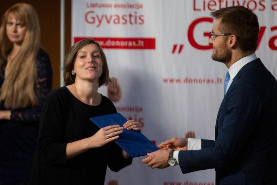 Žygimanto Gedvilos / 15min nuotr./15min žurnalistė Ida Mažutaitienė pagerbta Vyriausybės padėka