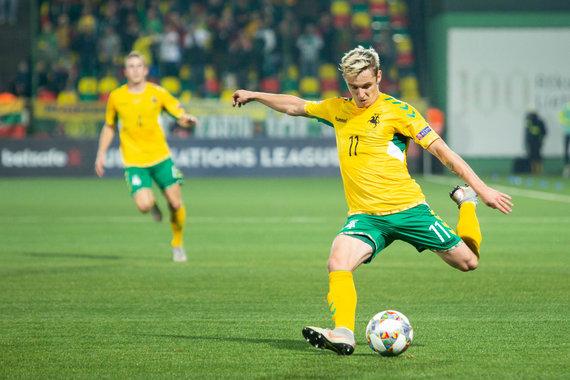 Žygimanto Gedvilos / 15min nuotr./UEFA Tautų lyga: Lietuva – Rumunija