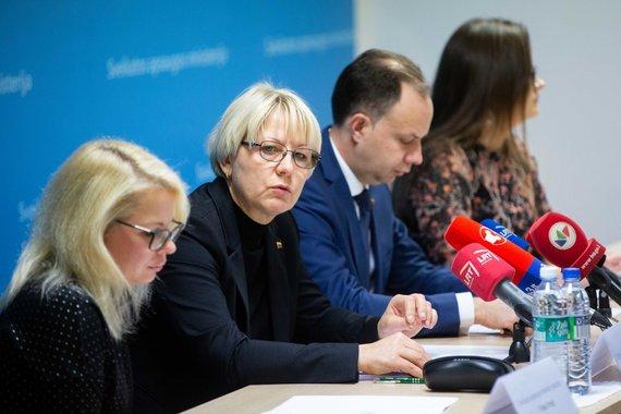 Žygimanto Gedvilos / 15min nuotr./Sveikatos apsaugos ministerijos spaudos konferencija