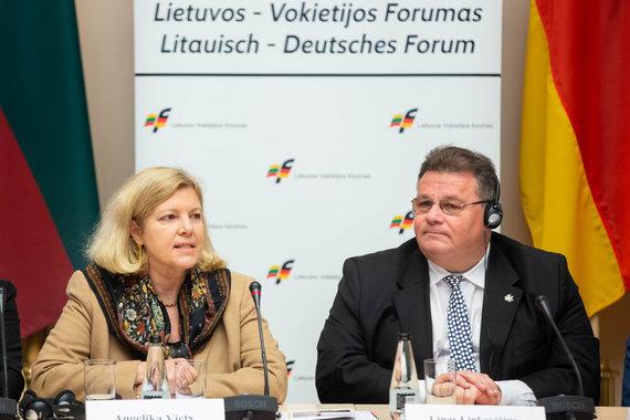 Žygimanto Gedvilos / 15min nuotr./Angelika Viets ir Linas Linkevičius