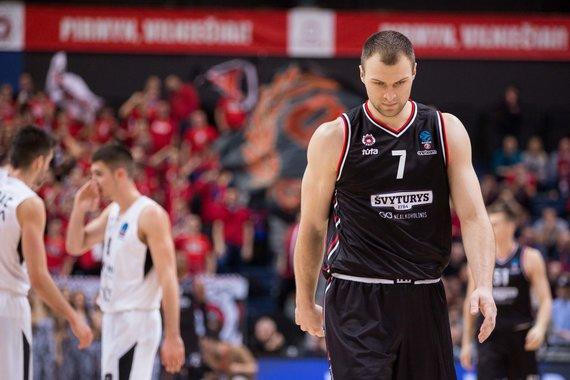"""Žygimanto Gedvilos / 15min nuotr./Europos taurė: """"Rytas"""" - """"Partizan"""""""