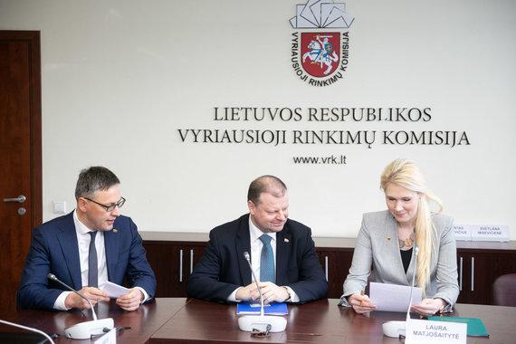 Žygimanto Gedvilos / 15min nuotr./Vytautas Bakas, Saulius Skvernelis, Laura Matjošaitytė
