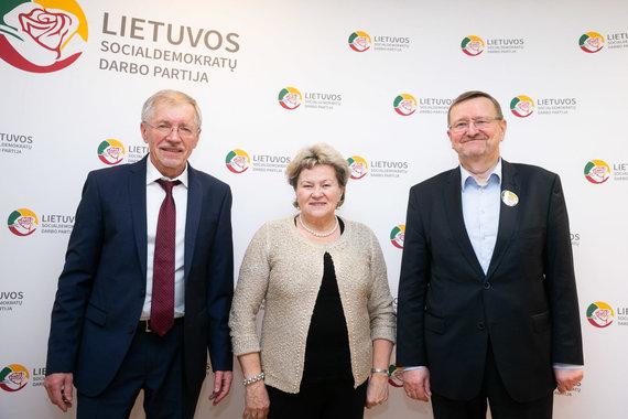 Žygimanto Gedvilos / 15min nuotr./Gediminas Kirkilas, Irena Šiaulienė, Juozas Bernatonis
