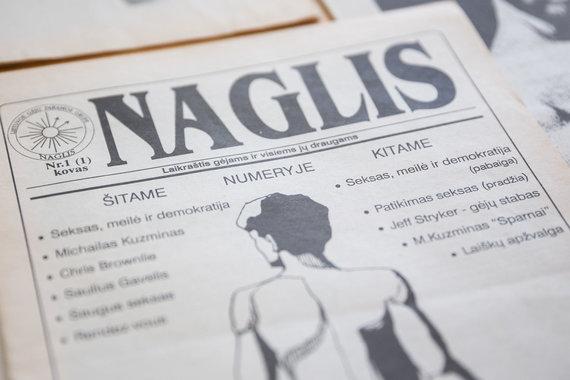 """Žygimanto Gedvilos / 15min nuotr./Žurnalas """"Naglis"""""""
