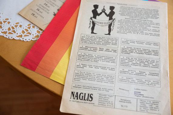 """Žygimanto Gedvilos / 15min nuotr./Pirmieji Lietuvos LGBT bendruomenės žurnalai – """"Amsterdamas"""" ir """"Naglis"""""""