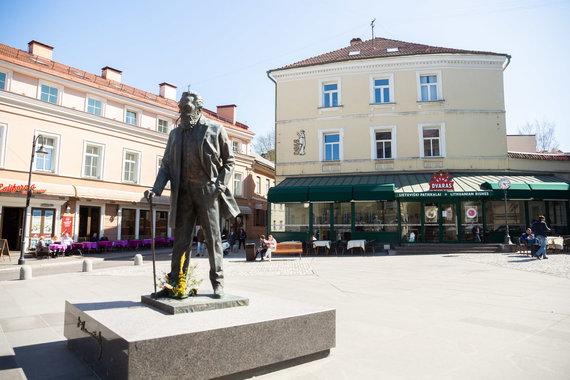 Žygimanto Gedvilos / 15min nuotr./Vytenio Povilo Andriukaičio namai Vilniuje