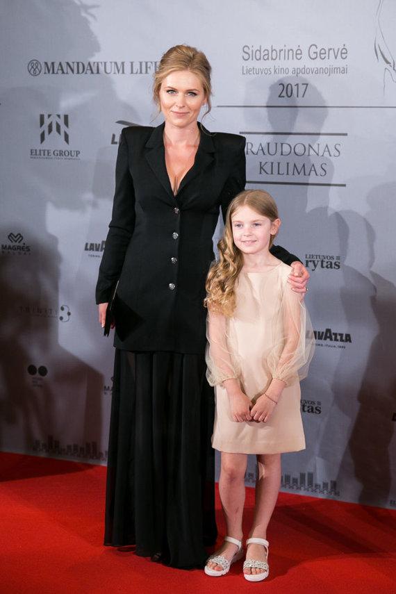 Juliaus Kalinsko / 15min nuotr./Agnė Grudytė su dukra Ieva
