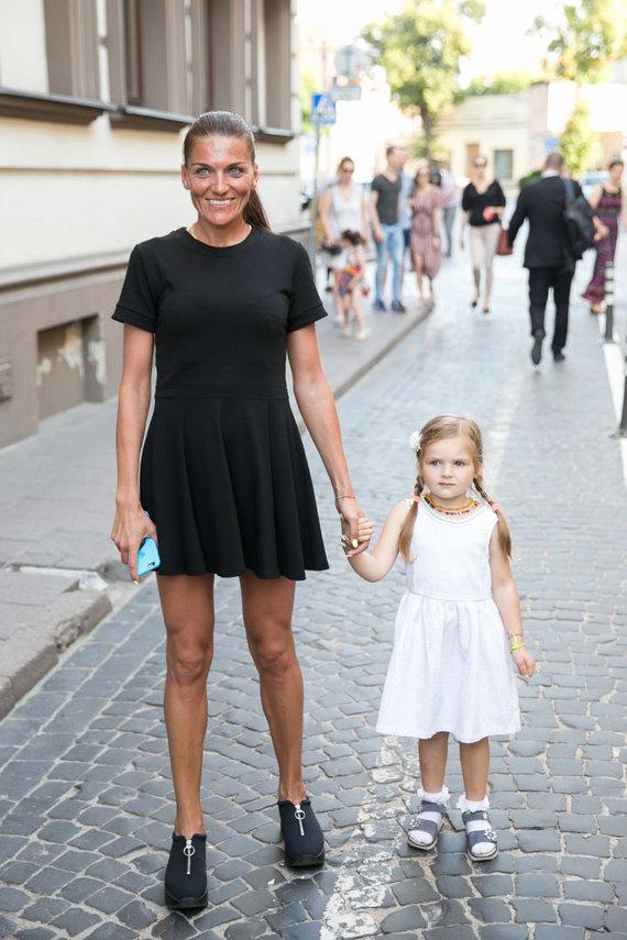 Žygimanto Gedvilos / 15min nuotr./Diana Lobačevskė su dukra